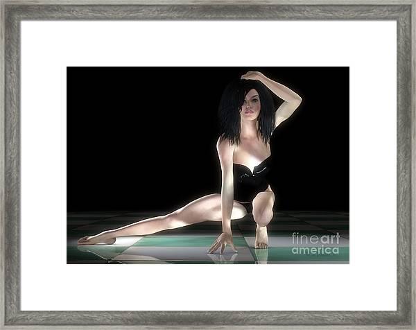 Light And Shadow Framed Print by Sandra Bauser Digital Art