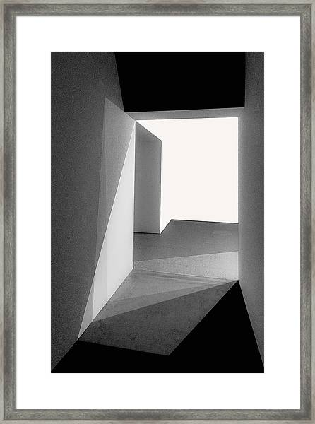 Light And Shadows Framed Print by Inge Schuster