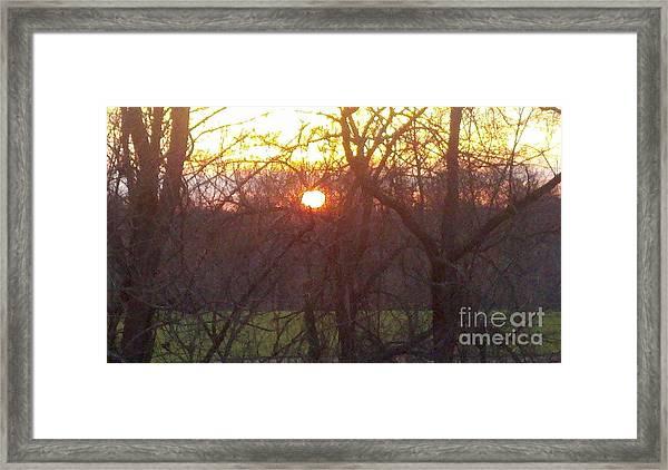 Light At Sunrise Framed Print