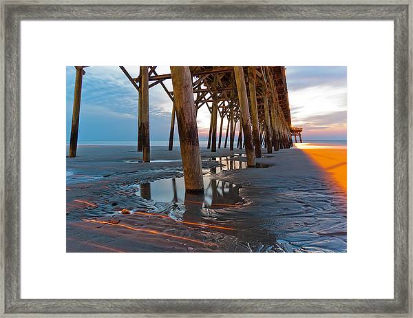 Framed Print featuring the photograph Light Before Dawn by Francis Trudeau
