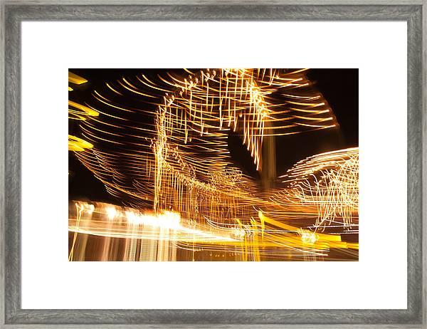 Light Fandango Framed Print