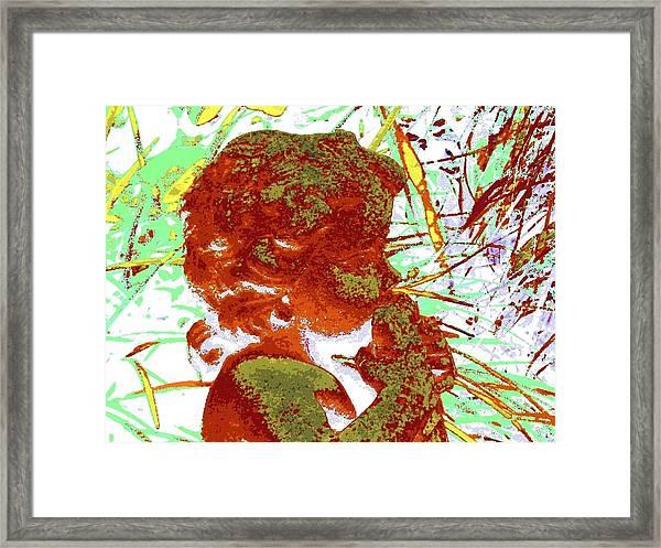 Light Forest W Pan Framed Print