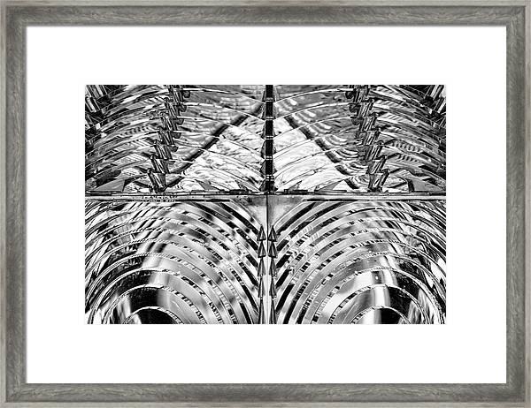 Light House Glass Framed Print