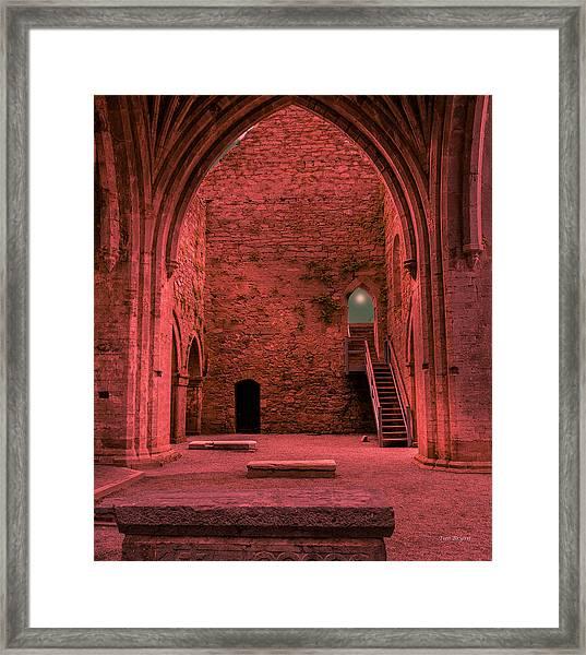 Light Of Ancient Souls Framed Print