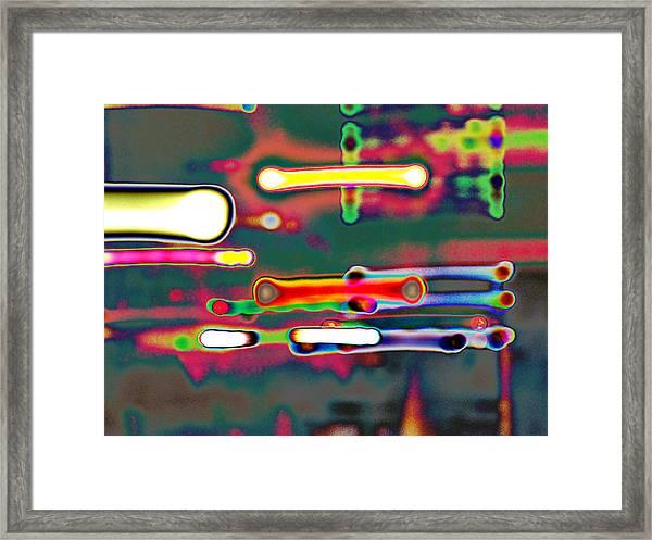 Light Of Hope - Light Of Imagination - Light At The End Of The Tunnel Framed Print