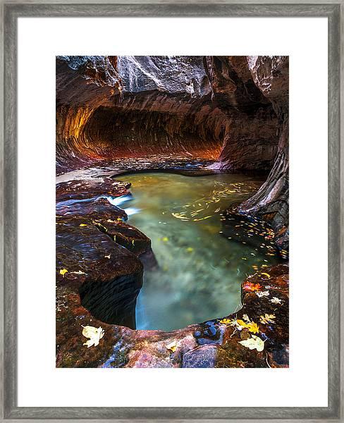 Light Passage Framed Print