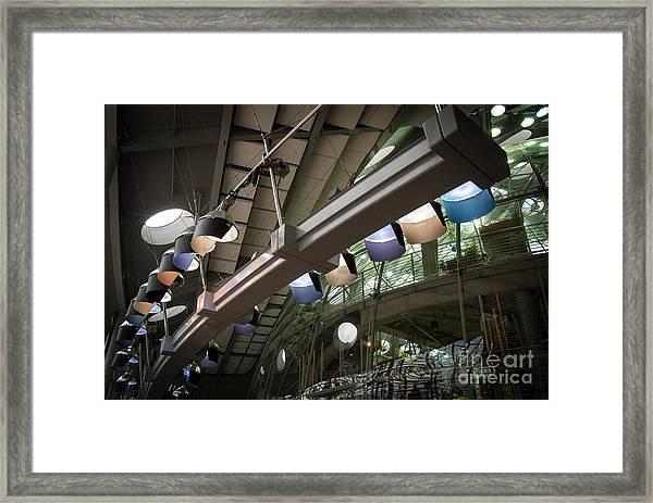 Light Row Framed Print