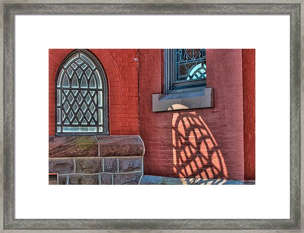 Light Shadows And Reflections Framed Print