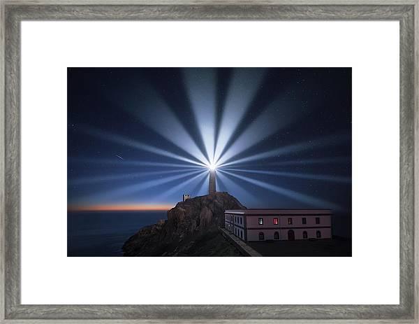 Light The Night Framed Print