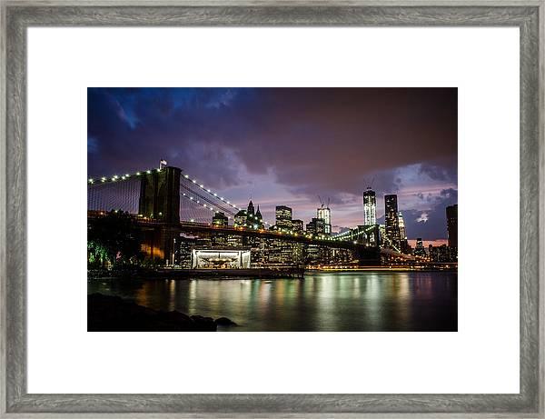 Light Up The Night Framed Print