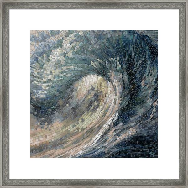 Light Wave  Framed Print