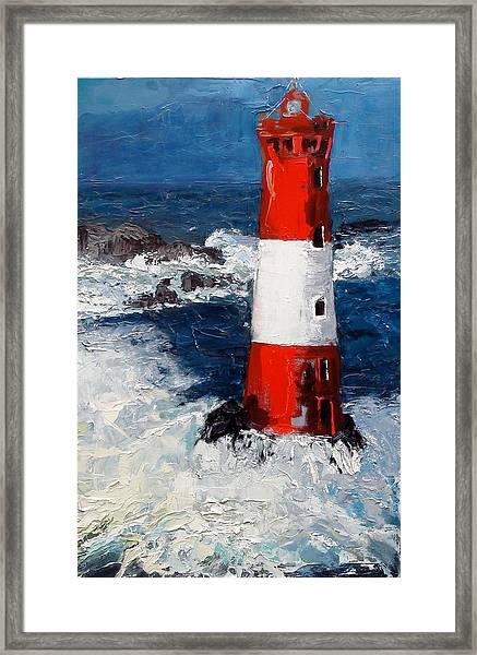 Lighthouse Keeper Framed Print