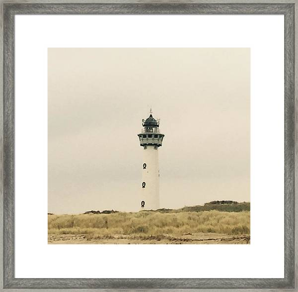 Lighthouse Netherlands Framed Print