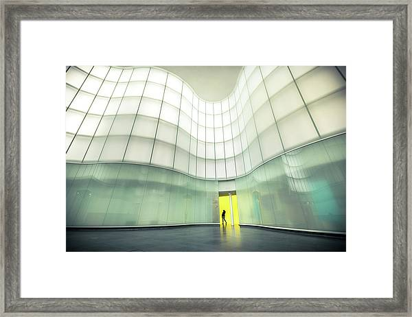 Lights And Colors Framed Print
