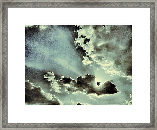 Like I Said... I Will Be Always Here For You... Framed Print