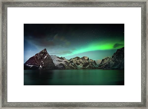 Lille Toppa??ya Framed Print by Hilde Ghesquiere