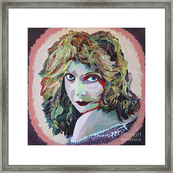Lillian Gish Portrait Framed Print