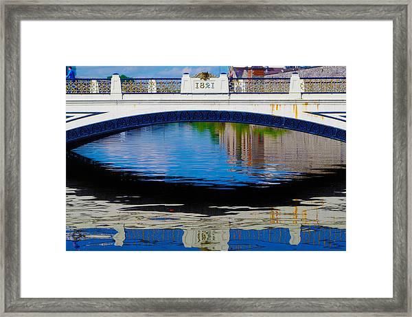Sean Heuston Dublin Bridge Framed Print