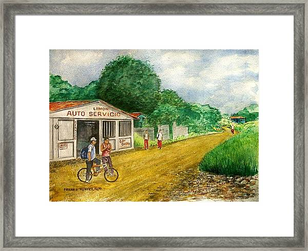 Limon Costa Rica Framed Print