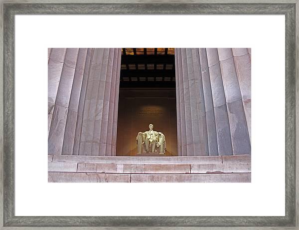 Lincoln Memorial2 Framed Print