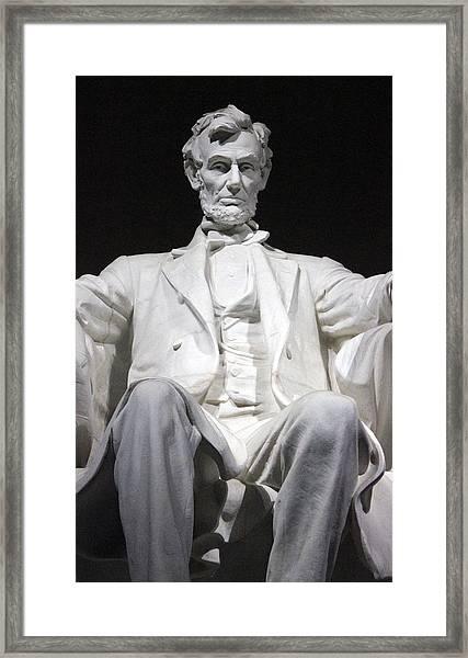 Lincoln1 Framed Print