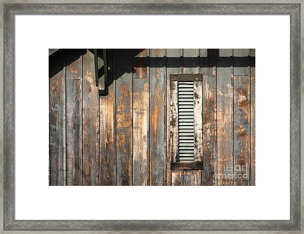 Lines And Designs Framed Print