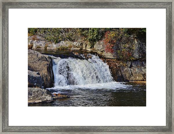 Linville Falls Framed Print