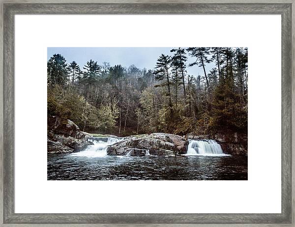 Linville Upper Falls Framed Print