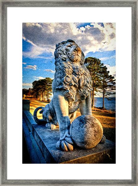 Lion's Bridge Framed Print by Williams-Cairns Photography LLC