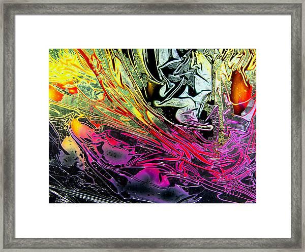 Liquid Decalcomaniac Desires 1 Framed Print