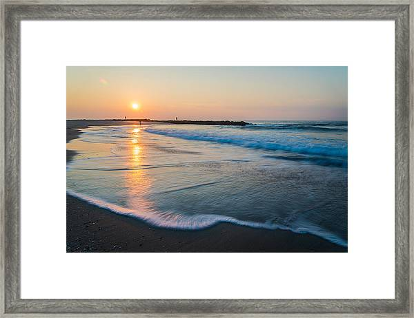 Liquid Sun Framed Print
