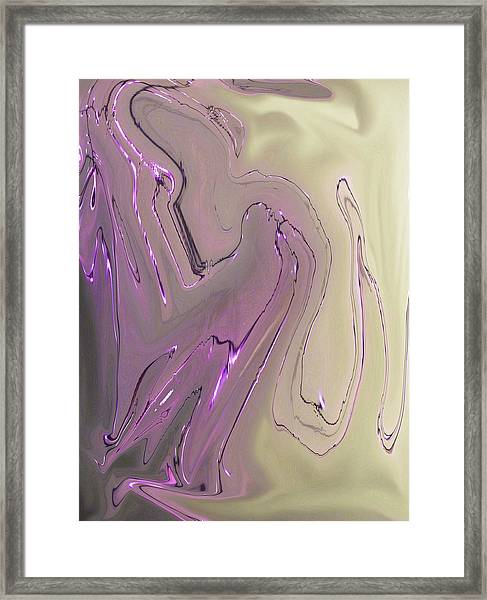Liquid Woman Framed Print