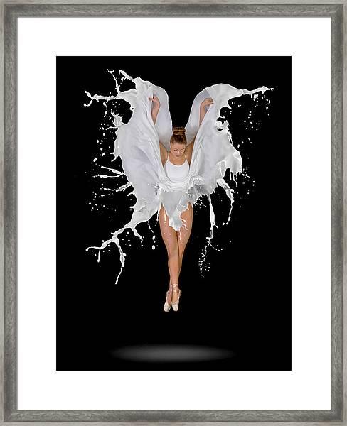 Liquidize Framed Print
