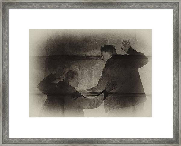Listen Very Closely And You'll Hear Framed Print