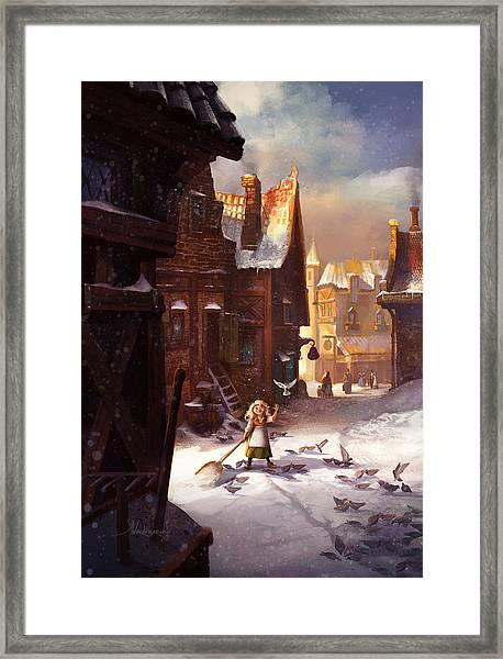 Little Anna Framed Print