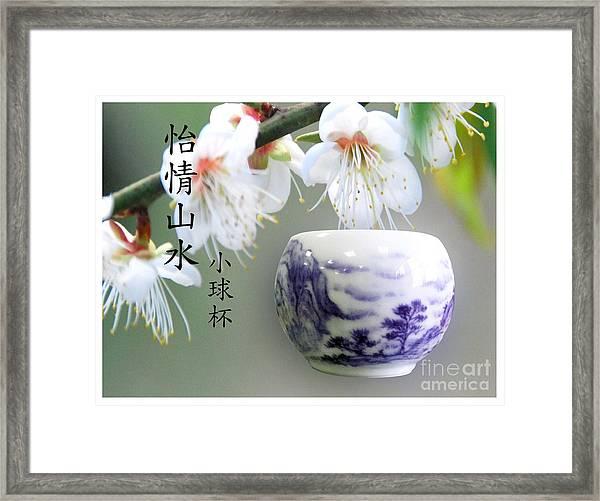 Little Ball Cup Framed Print