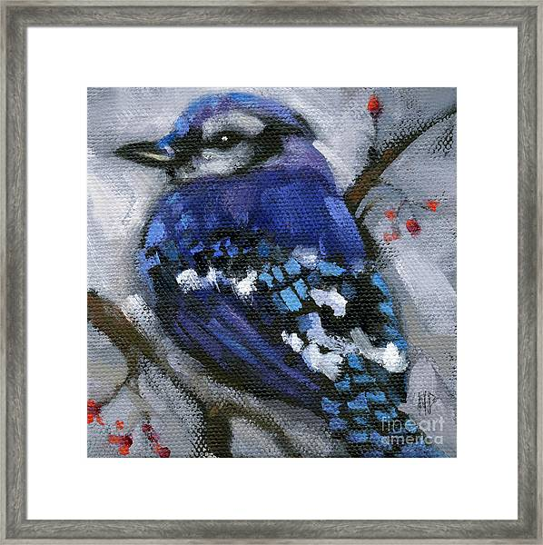Sold Little Bird Come Sit Upon My Window Sill Framed Print