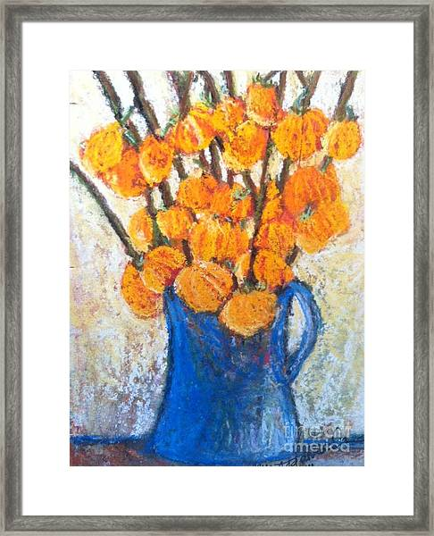 Little Blue Jug Framed Print