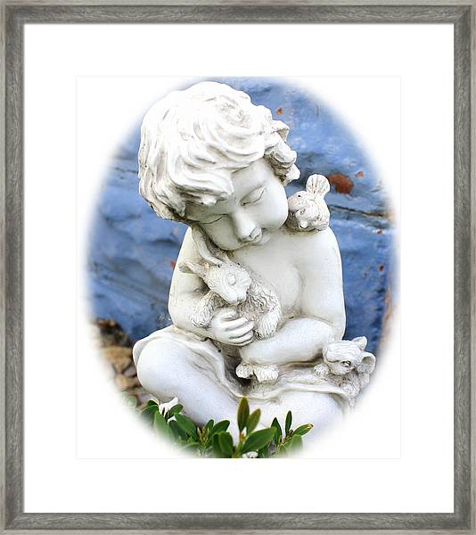 Little Cherub Framed Print