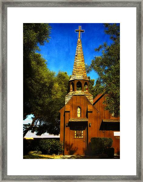 Little Church Of The West Framed Print