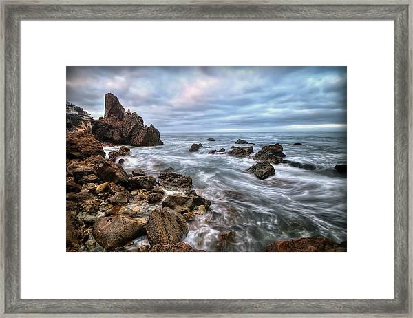 Little Corona Del Mar Framed Print