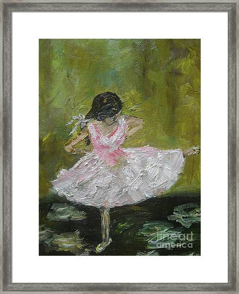 Little Dansarina Framed Print