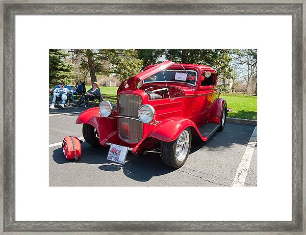 Little Deuce Coupe Framed Print