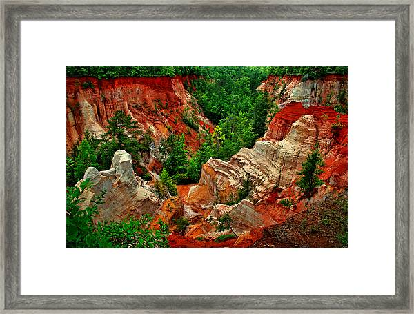 Little Grand Canyon 2 Framed Print