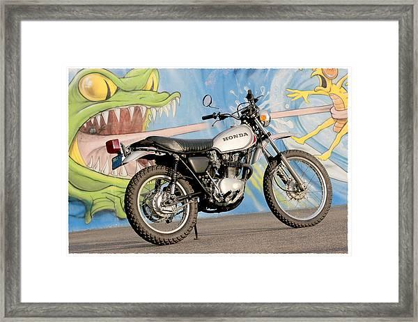 Little Honda On Highway One Framed Print