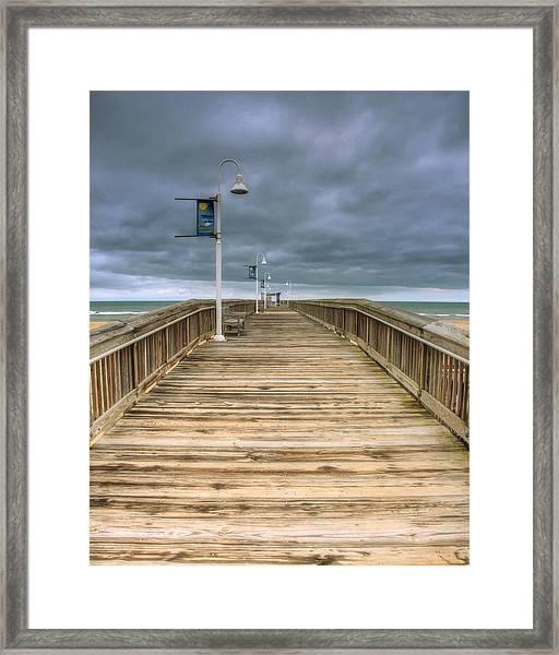 Little Island Pier Framed Print