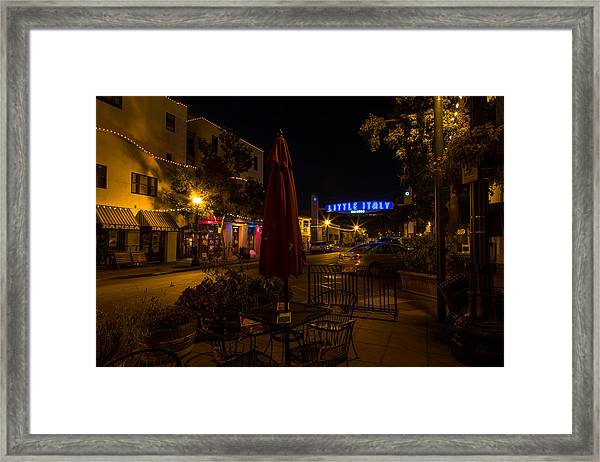 Little Italy  Framed Print