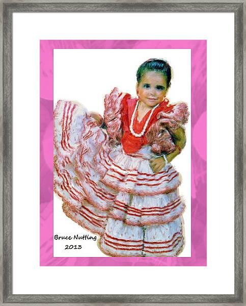 Little Lidia Framed Print