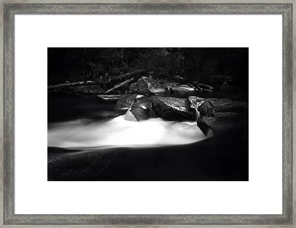Little River Cauldron Framed Print