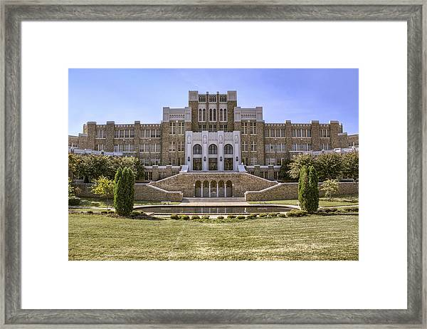 Little Rock Central High School Framed Print